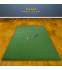 Golf simulator mat