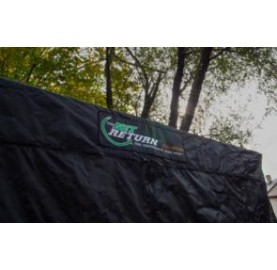 Protective cover for golf net