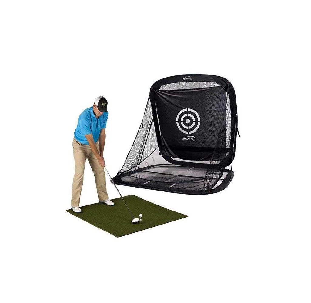 Spornia SPG-7 Golf Practice Net - All in one Package