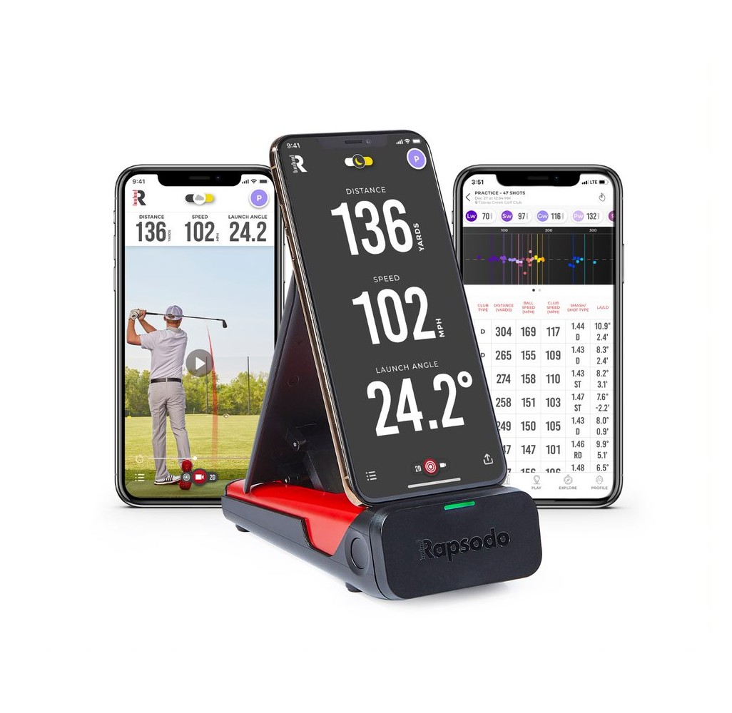 Rapsodo Mobile Launch Monitor Golf Simulator