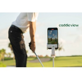 Your caddy view for golf training