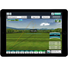 FlightScope Mevo+ indoor golf simulator