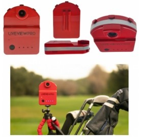 LiveView Pro camera to analyze your golf swing