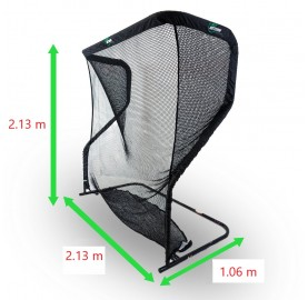 Dimensions of the golf net