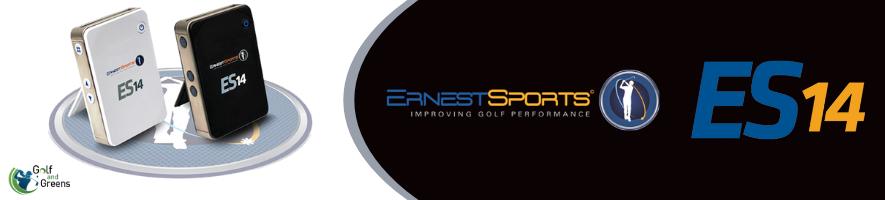 ES 14 Launch Monitor | Ernest Sports | Golf Simulator