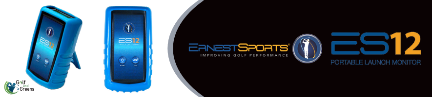 ES12 Portable Golf Launch Monitor | Ernest Sports | Golf and Greens