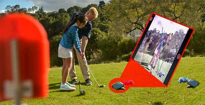 Caméra d'analyse de swing LiveView Pro